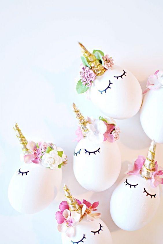 оригинальный декор пасхальных яиц своими руками