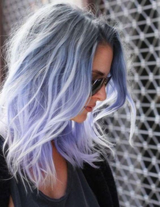 модный цвет волос 2019