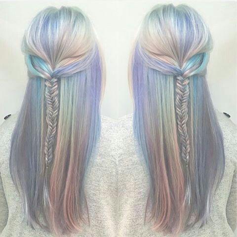 prismatic hair