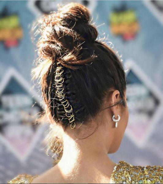 прически кольца для волос