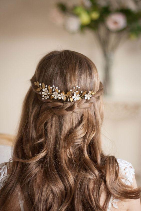цветочная корона для волос