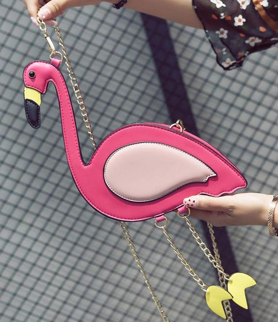 сумка в виде фламинго flamingo bag