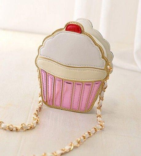 сумка в виде кекса cupcake handbag