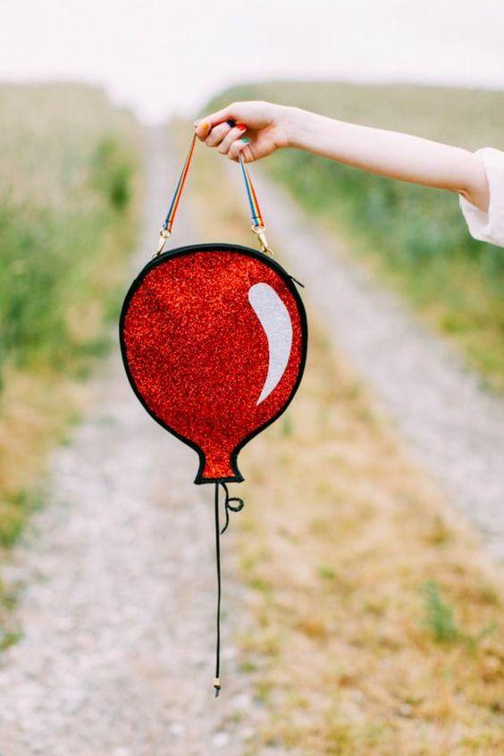 прикольная сумка в виде шарика