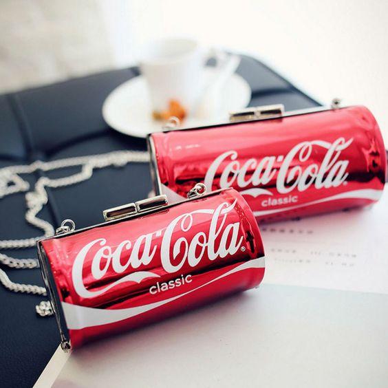 сумка в виде кока-кола coca-cola bag