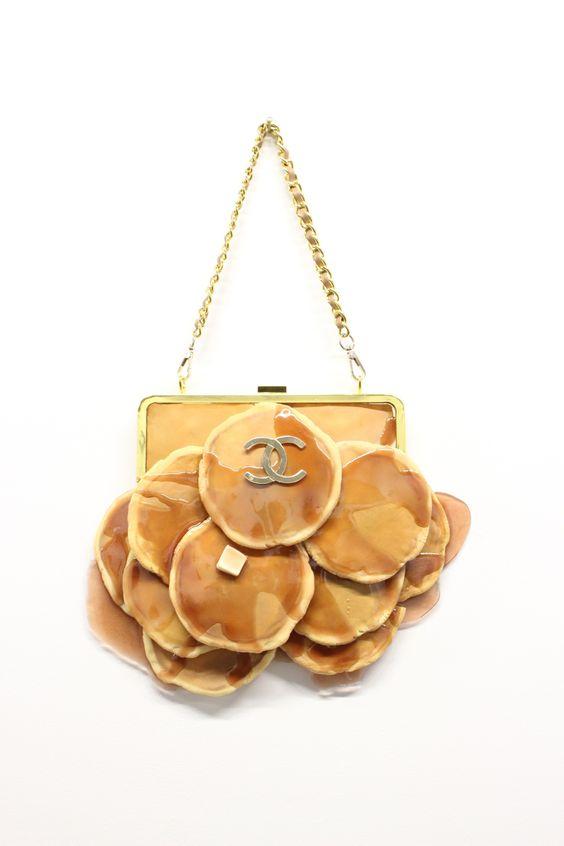 сумка в виде блинов pancake bag