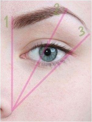 как нарисовать брови, чтобы казаться моложе