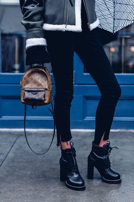 уличные модные образы с рюкзаками, backpack street fashion, style, outfit