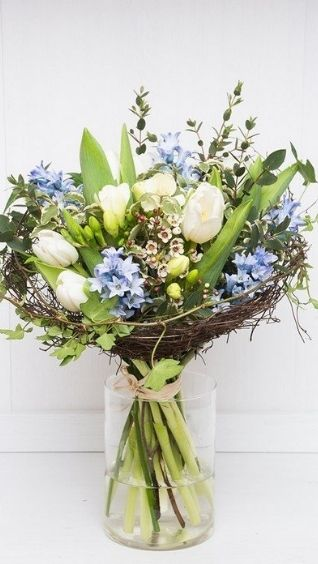 Красивый, нежный букет цветов