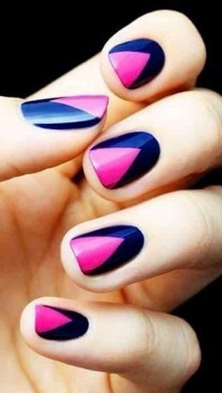 Дизайн ногтей - геометрия, фото. Превосходные идеи геометрического маникюра
