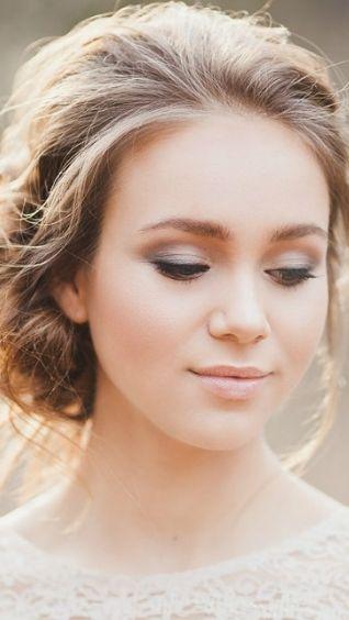 Свадебный легкий макияж. Как создать нежный образ невесты