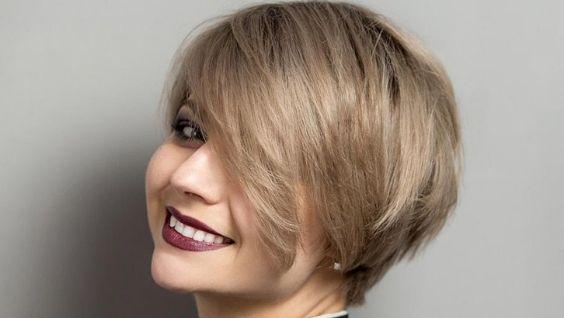 стрижки на средние тонкие волосы