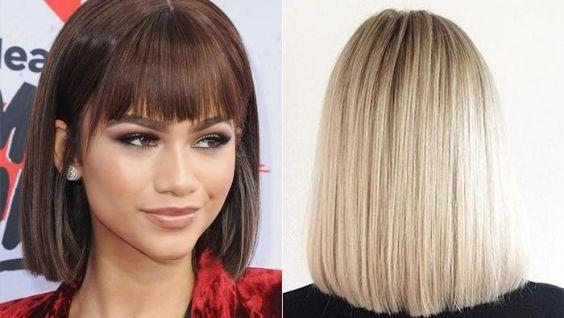 стрижки на тонкие волосы средней длины