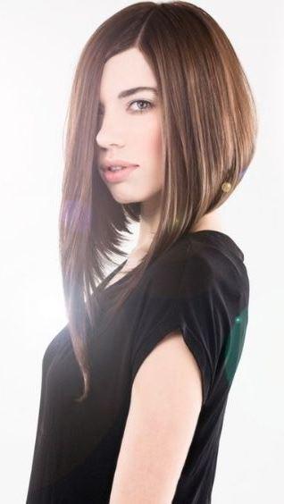 женские стрижки для тонких волос средней длины