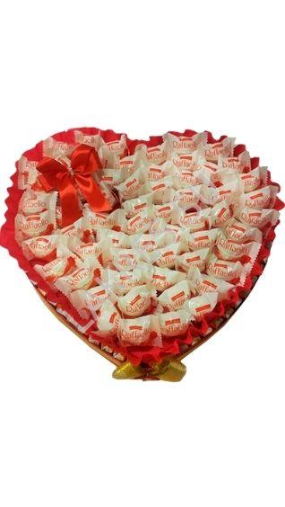 Сердце из конфет своими руками. Мастер-классы и идеи