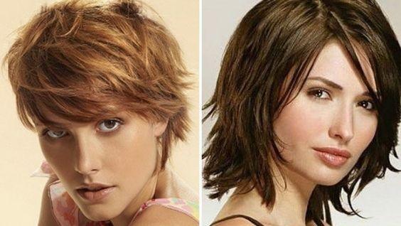 стрижка на тонкие волосы средней длины
