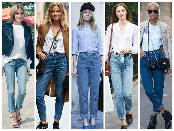 джинсы мом фото