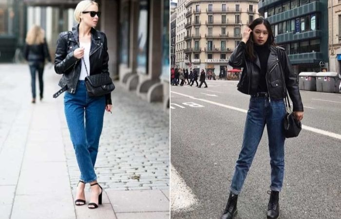 джинсы с курткой