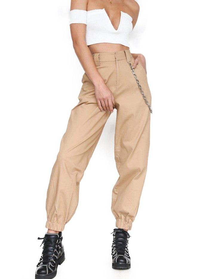 женские брюки карго с чем носить