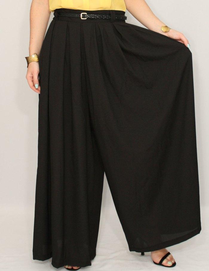юбка брюки для полных