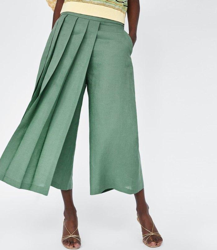 юбка брюки 2021 с чем носить