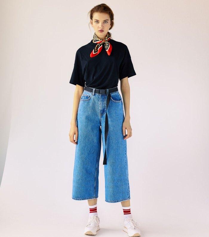 штан с завышенной талией
