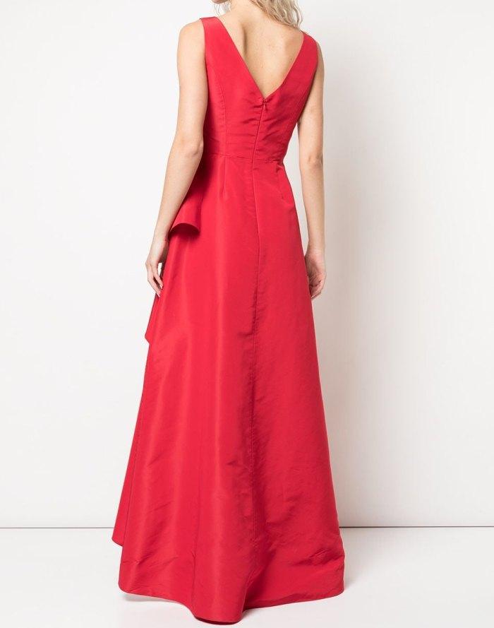 красное платье вечернее