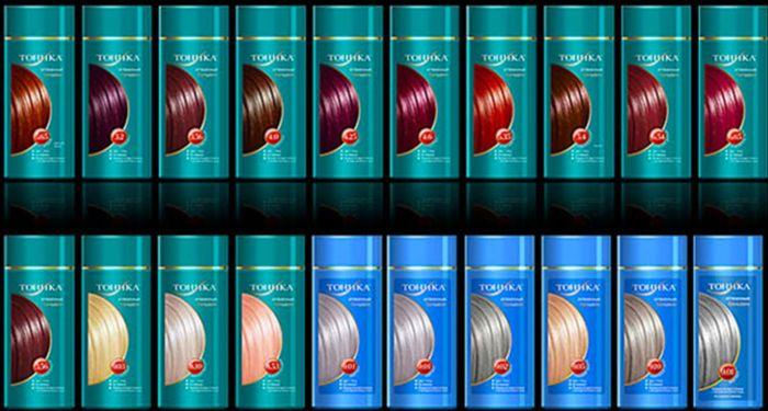 как покрасить волосы тоником