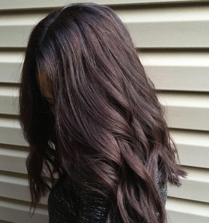 цвет мокко на волосах фото