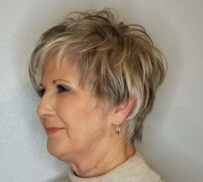 стрижки для женщин после 60 лет фото