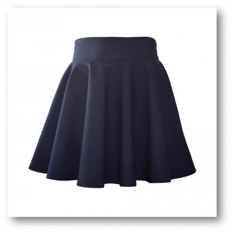 Как сшить школьную юбку