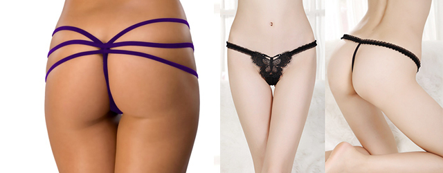 модели женских стрингов