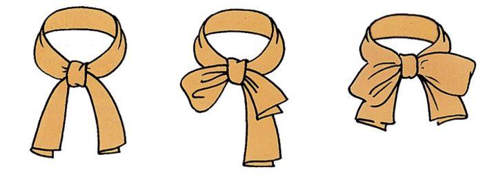 полубант из пояса для верхней одежды