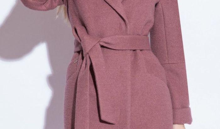 простой узел на поясе пальто