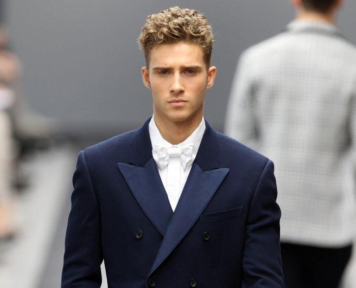 стрижка для парня модная