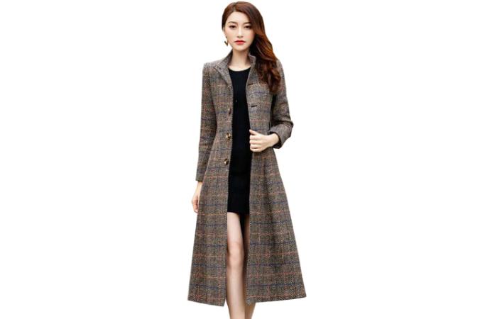 пальто как носить